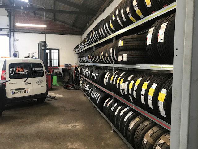 range pneu  toutes marques et dimensions